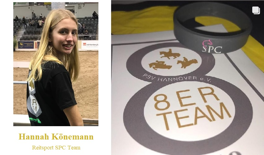 Hannah Könemann vom Reitsport SPC Team