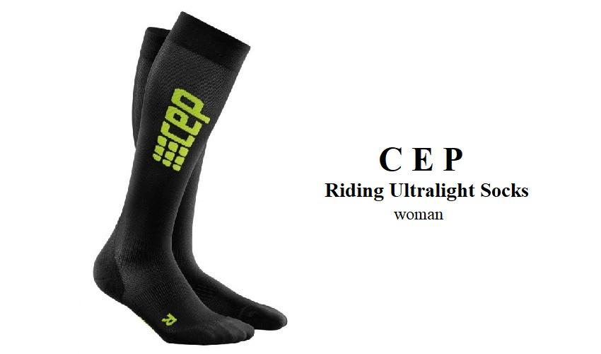 CEP Riding Ultralight Socks woman