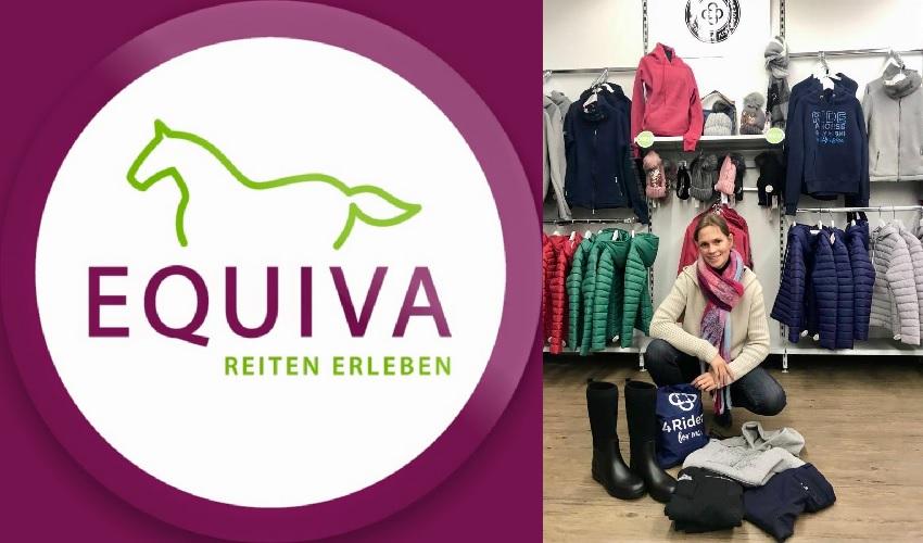 Equiva ist Sponsor von Janine Weber / Reitsport SPC