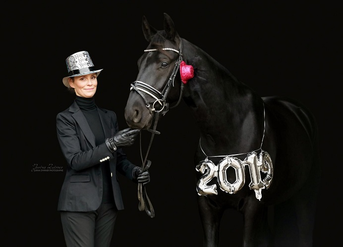 Neujahr 2019 mit Pferd