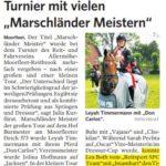 AMR - Hof Burmester - Marschländer Meister 2019